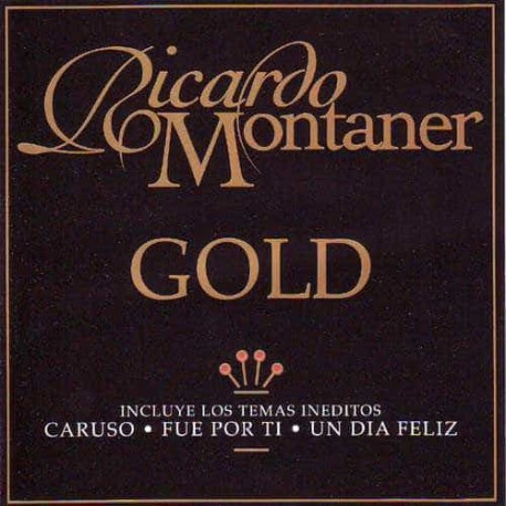 RICARDO MONTANER 2CD Gold The Best Of