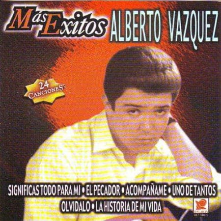 ALBERTO VASQUEZ CD 24 Canciones
