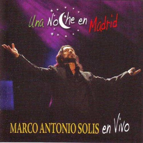 MARCO ANTONIO SOLIS CD+DVD Una Noche En Madrid En Vivo