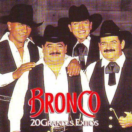 BRONCO CD 20 Grandes Exitos