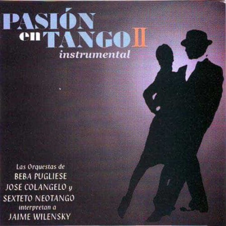 PASION EN TANGO Instrumental CD Vol 2