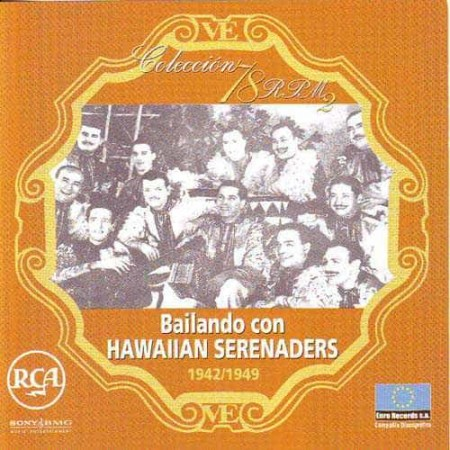 HAWAIIAN SERENADERS CD Bailando Con Hawaiian Serenaderas