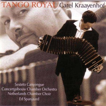 CAREL KRAAYENHOF CD Tango Royal