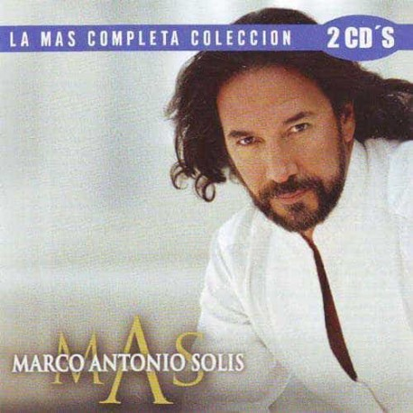 MARCO ANTONIO SOLIS 2CD La Mas Completa Coleccion
