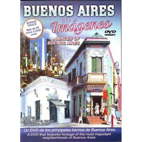 BUENOS AIRES EN IMAGENES DVD Images Of Buenos Aires