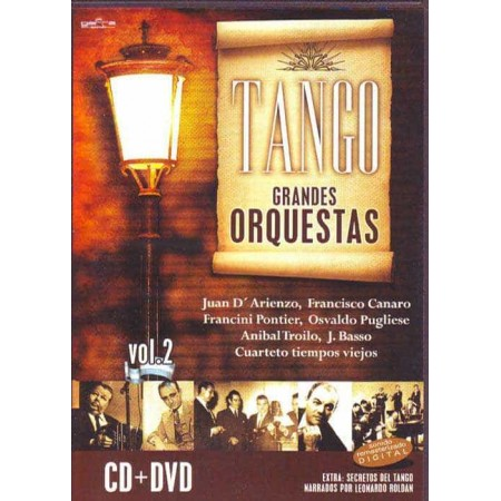 TANGO GRANDES ORQUESTAS DVD + CD Vol 2