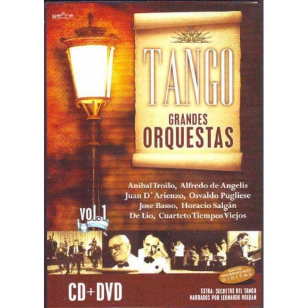 TANGO GRANDES ORQUESTAS DVD + CD Vol 1