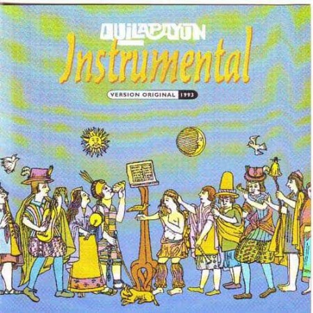 QUILAPAYUN CD Instrumental Version Original 1993