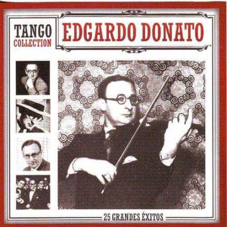 EDGARDO DONATO CD Tango Collection 25 Grandes Exitos