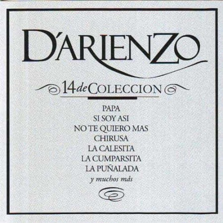 JUAN D'ARIENZO & ORQUESTA CD 14 De Coleccion