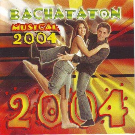 BACHATATON MUSICAL 2004 CD Bachataton Musical 2004