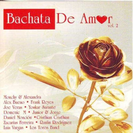 BACHATA DE AMOR CD Vol 2
