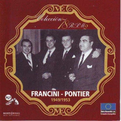 FRANCINI PONTIER CD Collection 78 RPM 1949 - 1953