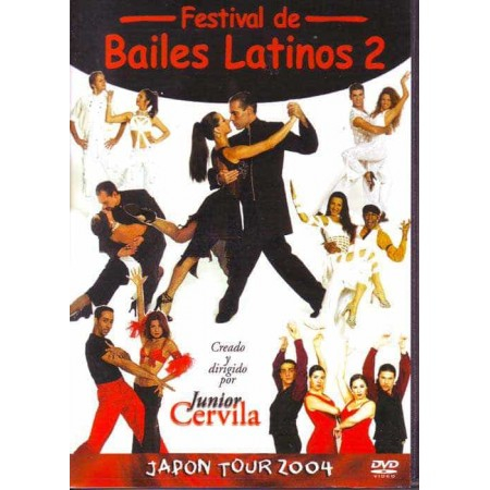 JUNIOR CERVILA DVD Festival Bailes Latinos 2 Japon Tour 2004