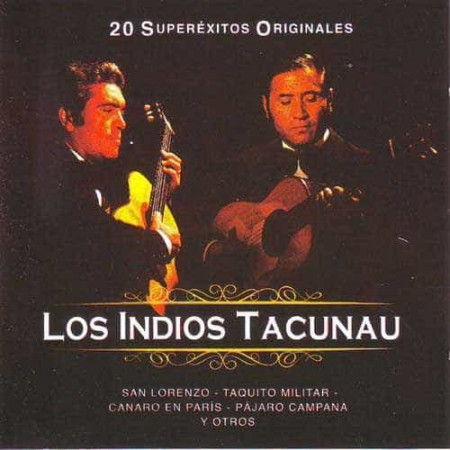 LOS INDIOS TACUNAU CD 20 Super Exitos Originales