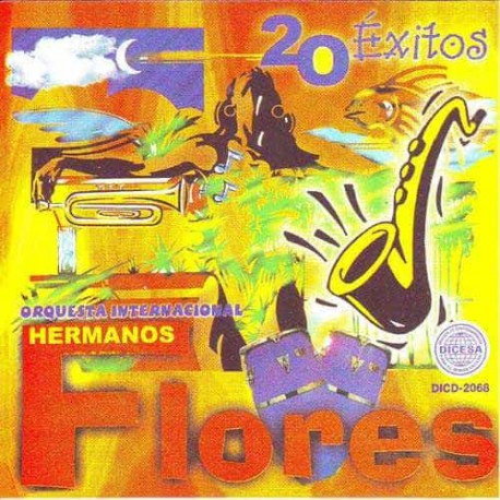 HERMANOS FLORES ORQ INTERNACIONAL CD 20 Exitos