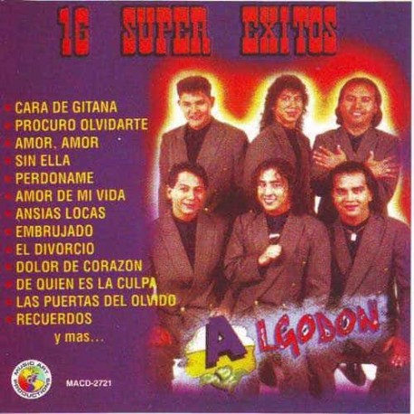 GRUPO ALGODON CD 16 Super Exitos