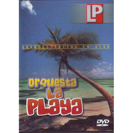 ORQUESTA LA PLAYA DVD Grandes Exitos En Vivo