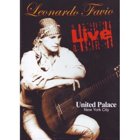 LEONARDO FAVIO DVD Live United Palace New York City
