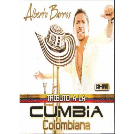 ALBERTO BARROS DVD+CD Vol 1 Tributo A La Cumbia Colombiana