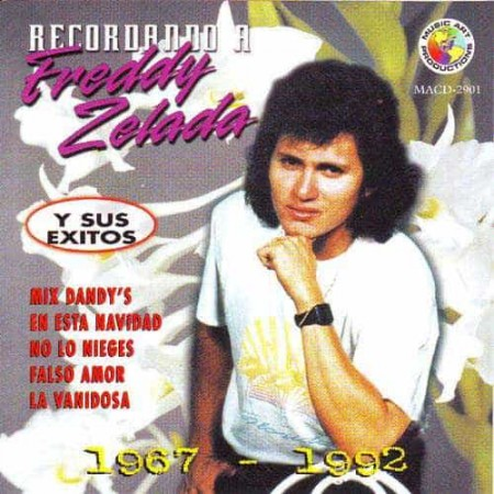 FREDDY ZELADA CD Recordando A Freddy Zelada 1967 - 1992