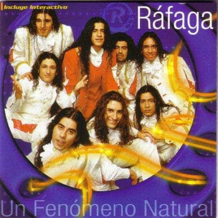 RAFAGA CD Un Fenomeno Natural