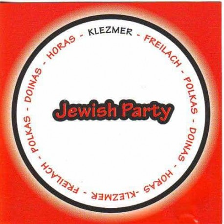 JEWISH PARTY CD Klezmer Freilach Polkas Doinas