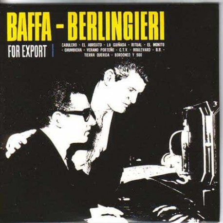 ERNESTO BAFFA & OSVALDO BERLINGIERI CD For Export