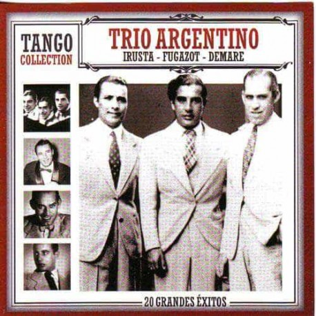 TRIO ARGENTINO IRUSTA & FUGAZOT & DEMARE CD Tango Collection