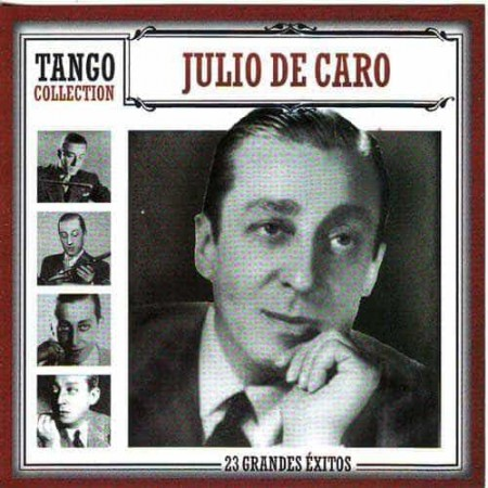 JULIO DE CARO CD Tango Collection 23 Grandes Exitos