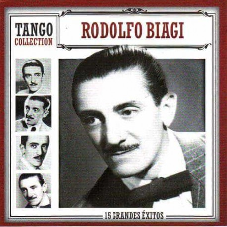 RODOLFO BIAGI CD Tango Collection 15 Grandes Exitos