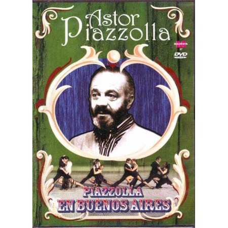 ASTOR PIAZZOLLA DVD Piazzolla En Buenos Aires Tango Show