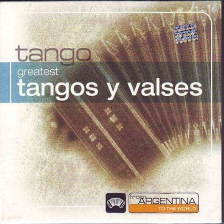 TANGOS Y VALSES CD From Argentina To The World