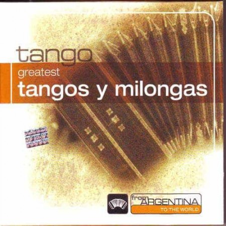 TANGOS Y MILONGAS INTRUMENTALES CD From Argentina To The World