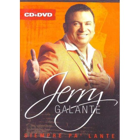 JERRY GALANTE & ORQUESTA DVD+CD In Concert Siempre Palante