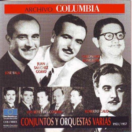 CONJUNTOS Y ORQUESTAS CD Archivo Columbia 1953 1957