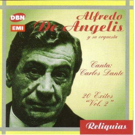 ALFREDO DE ANGELIS CD 20 Exitos Vol 2