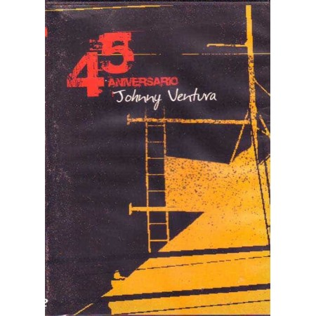 JOHNNY VENTURA DVD 45 Aniversario