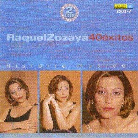 RAQUEL ZOZAYA CD 40 Exitos Best Of