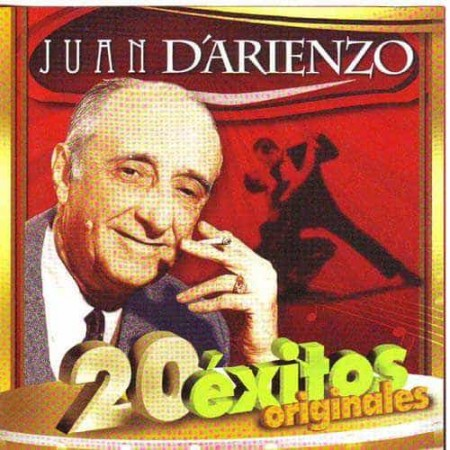 JUAN D'ARIENZO CD 20 Exitos Originales