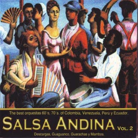 SALSA ANDINA VOL 2 CD Salsa Andina Vol 2