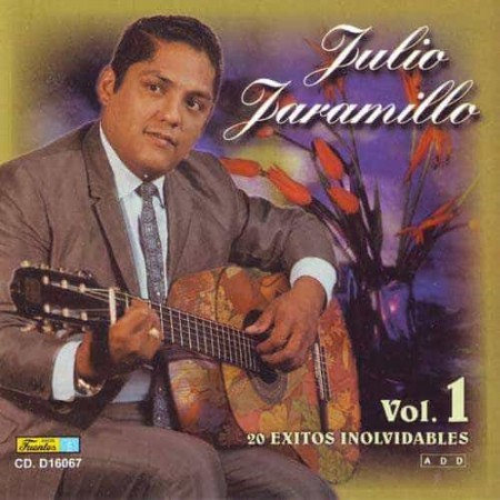 JULIO JARAMILLO CD 20 Exitos Inolvidables Vol 1