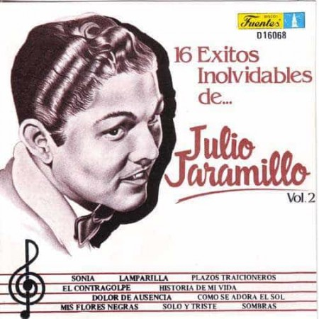 JULIO JARAMILLO CD 16 Exitos Inolvidables Vol 2