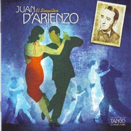 JUAN D'ARIENZO CD The Masters Of Tango El Simpatico