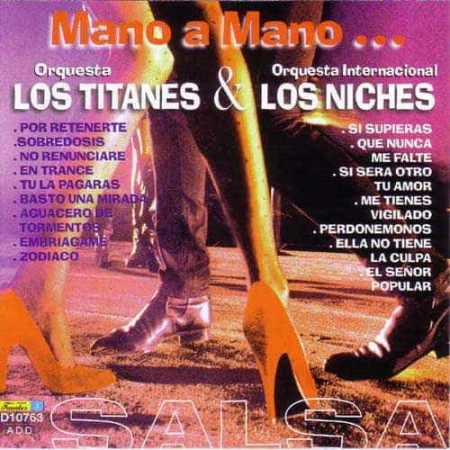 LOS TITANES & LOS NICHES CD Mano A Mano