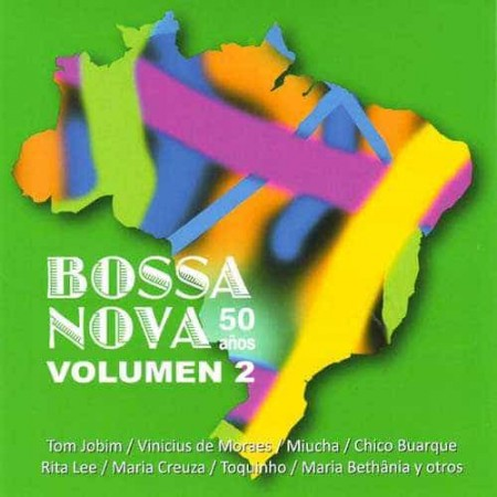 BOSSA NOVA 50 AÑOS CD Vol 2