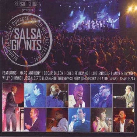 SERGIO GEORGE DVD+CD Presents Salsa Giants