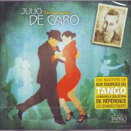 JULIO DE CARO CD The Masters Of Tango Tierra Querida 1927 - 195