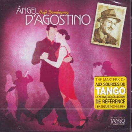 ANGEL D'ADOSTINO & ANGEL VARGAS CD The Masters Of Tango Cafe Do