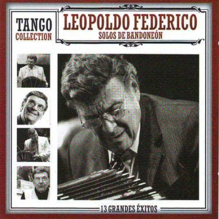 LEOPOLDO FEDERICO CD Tango Collection Solos De Bandoneon